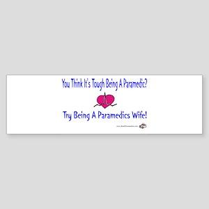 Paramedic Wife Bumper Sticker