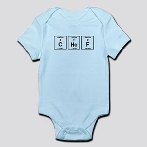Chef Element Symbols Infant Bodysuit