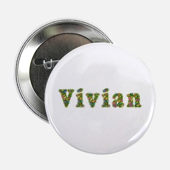 Vivian Floral Button