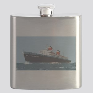 SS United States Flask