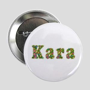 Kara Floral Button