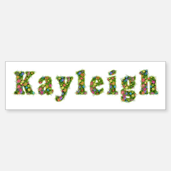 Kayleigh Floral Bumper Bumper Bumper Sticker