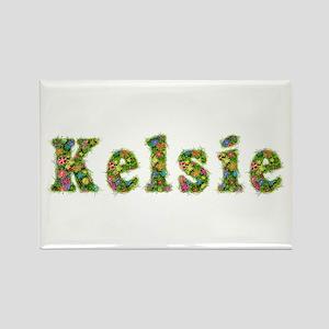 Kelsie Floral Rectangle Magnet