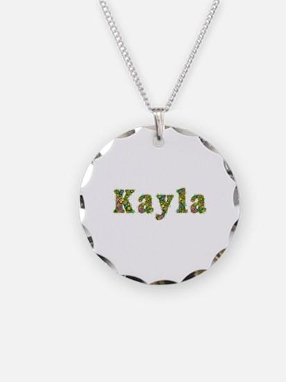 Kayla Floral Necklace