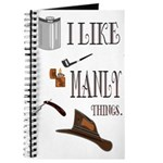 I like manly things Journal