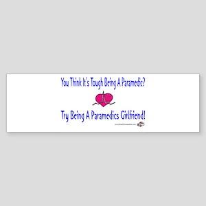 Paramedics Girlfriend Bumper Sticker