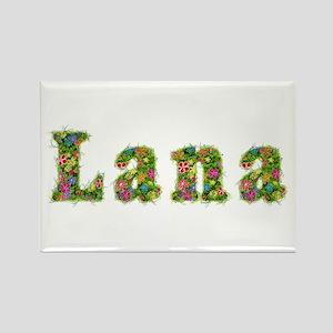 Lana Floral Rectangle Magnet