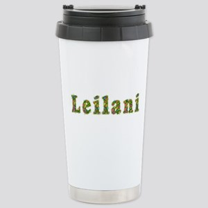 Leilani Floral Stainless Steel Travel Mug