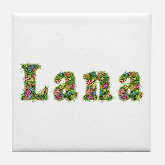 Lana Floral Tile Coaster