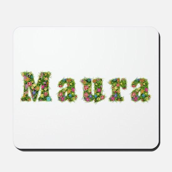 Maura Floral Mousepad