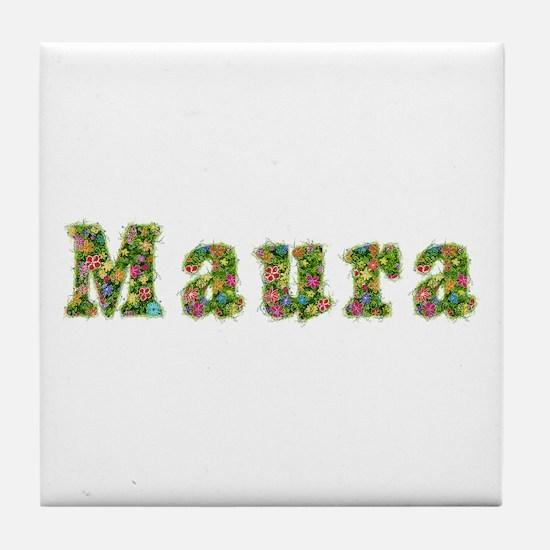 Maura Floral Tile Coaster