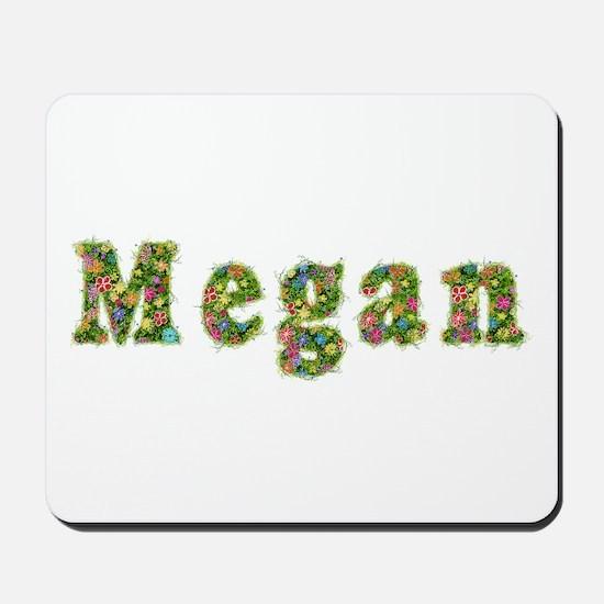 Megan Floral Mousepad