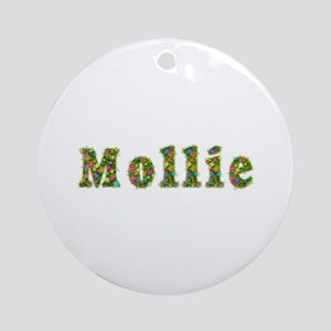 Mollie Floral Round Ornament