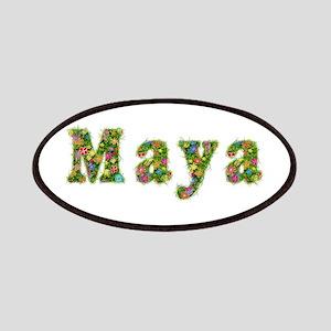 Maya Floral Patch