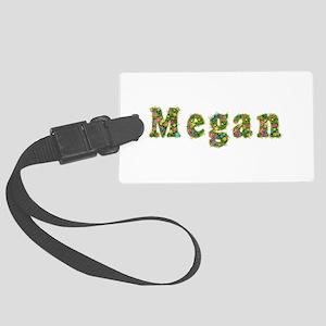 Megan Floral Large Luggage Tag