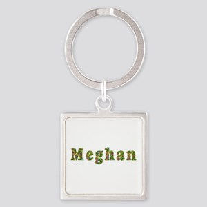 Meghan Floral Square Keychain