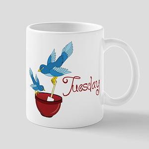 Blue Bird Tuesday Mug