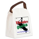 theatregeeksSquareLogo.png Canvas Lunch Bag