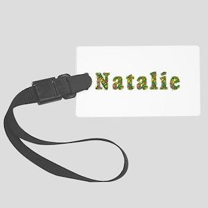 Natalie Floral Large Luggage Tag