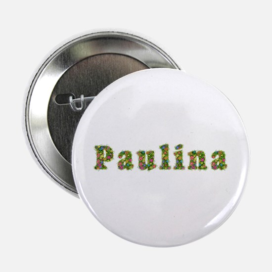 Paulina Floral Button