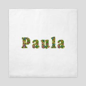 Paula Floral Queen Duvet