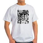 Intracities Ash Grey T-Shirt (2-sided)