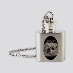 PRNI Pekingese Rescue Flask Necklace