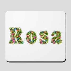 Rosa Floral Mousepad