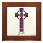 Cross - Geddes Framed Tile