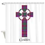 Cross - Geddes Shower Curtain