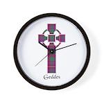 Cross - Geddes Wall Clock
