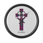 Cross - Geddes Large Wall Clock