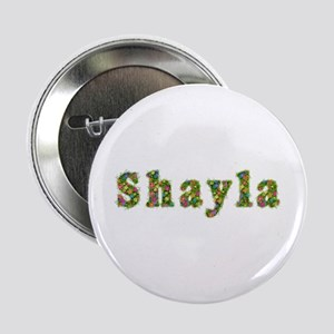 Shayla Floral Button