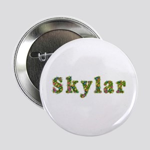 Skylar Floral Button