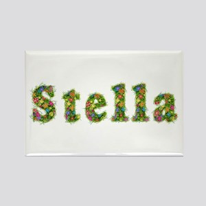 Stella Floral Rectangle Magnet