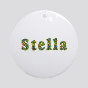 Stella Floral Round Ornament