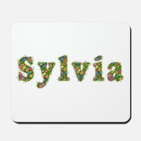 Sylvia Floral Mousepad