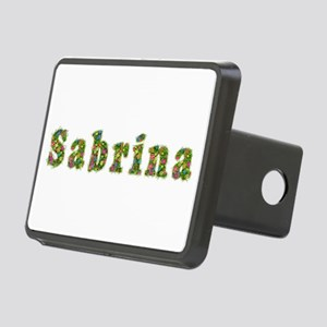 Sabrina Floral Rectangular Hitch Cover