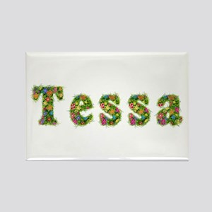 Tessa Floral Rectangle Magnet