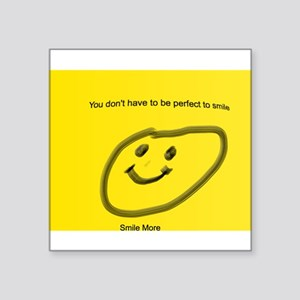 smile more stickers cafepress