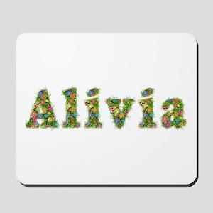Alivia Floral Mousepad
