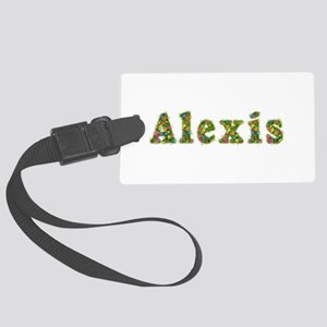 Alexis Floral Large Luggage Tag