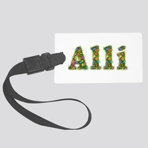 Alli Floral Large Luggage Tag