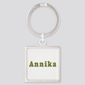 Annika Floral Square Keychain
