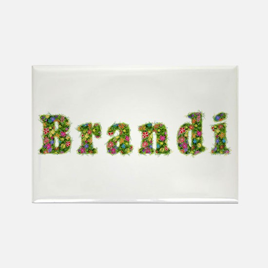 Brandi Floral Rectangle Magnet