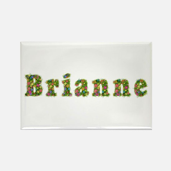 Brianne Floral Rectangle Magnet