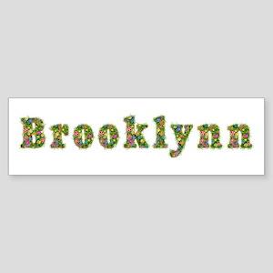Brooklynn Floral Bumper Sticker