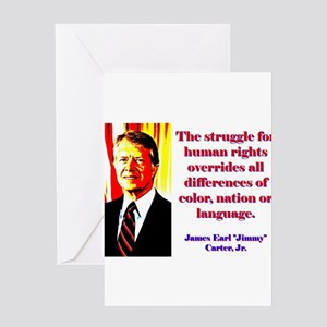 The Struggle For Human Rights - Jimmy Carter Greet