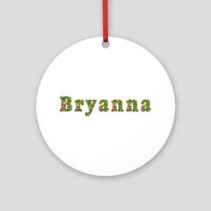 Bryanna Floral Round Ornament