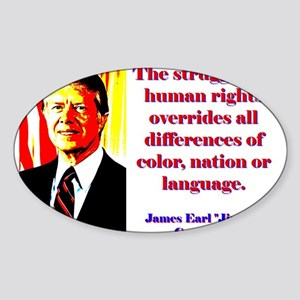 The Struggle For Human Rights - Jimmy Carter Stick